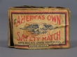 AMERICAS´OWN SAFETY MATCHES. Cerillos.